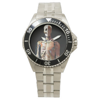 Medical Skeleton Stainless Watch