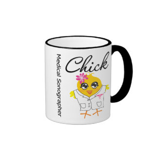 Medical Sonographer Chick Mugs