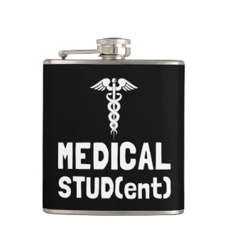 Medical Student Hip Flask