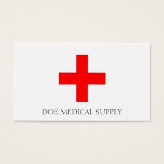 Medical Supply W/W Business Card
