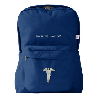 Medical Symbol Custom Backpack