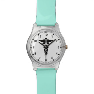 Medical Symbol Nurses and Doctors Wrist Watches