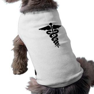 Medical Symbol Sleeveless Dog Shirt