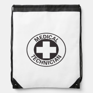 Medical Technician Sign Drawstring Bag