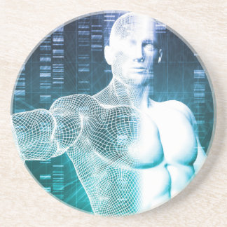 Medical Technology with Scientist Engineer on DNA Coasters