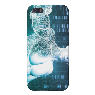 Medical Technology with Scientist Engineer on DNA iPhone 5/5S Cases