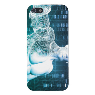 Medical Technology with Scientist Engineer on DNA iPhone 5 Case