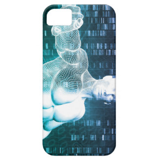 Medical Technology with Scientist Engineer on DNA iPhone 5 Cases