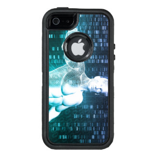 Medical Technology with Scientist Engineer on DNA OtterBox iPhone 5/5s/SE Case