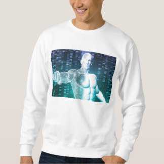 Medical Technology with Scientist Engineer on DNA Sweatshirt