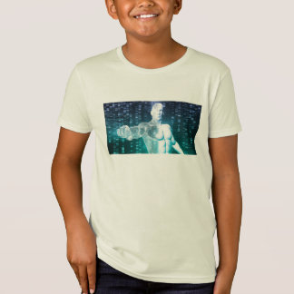 Medical Technology with Scientist Engineer on DNA T-Shirt