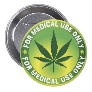 Medical Use Marajuana 7.5 Cm Round Badge