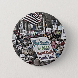 Medicare for All 6 Cm Round Badge