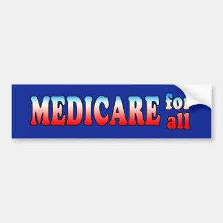 Medicare for All Bumper Sticker Car Bumper Sticker