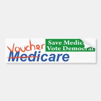 MediCare will become VoucherCare Bumper Sticker