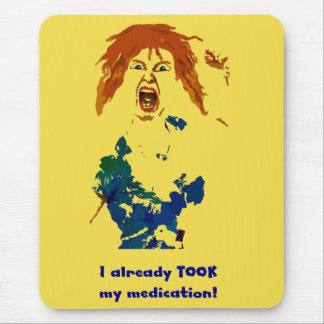 Medicated Mouse Pad