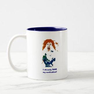 Medicated Two-Tone Coffee Mug