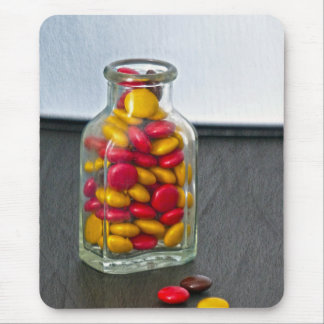 Medicine Bottle of Candy Mouse Pad