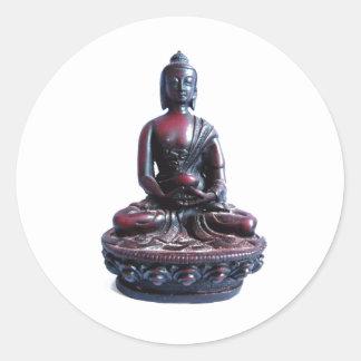 Medicine Buddha Classic Round Sticker