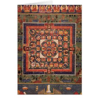 Medicine Buddha Mandala Card