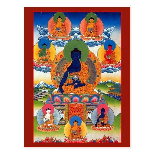 Medicine Buddha Post Card