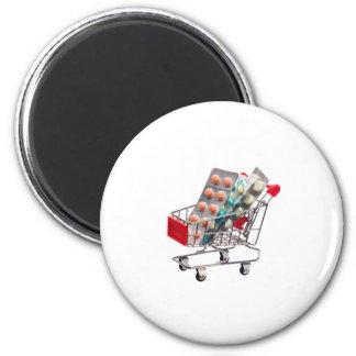 Medicine in trolley magnet