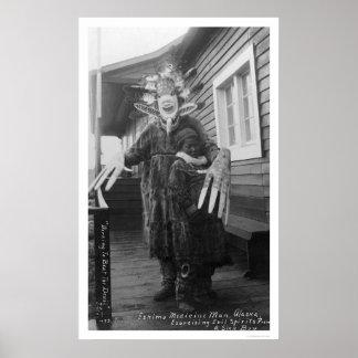 Medicine Man Eskimo 1912 Poster