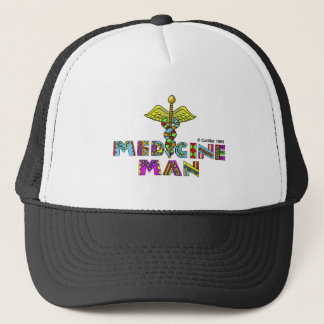Medicine man trucker hat