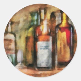 Medicine - Syrup of Ipecac Stickers