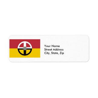 Medicine Wheel Return Address Label