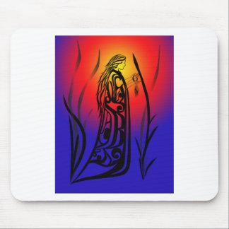 Medicine Woman Sunrise Prayers Mouse Pads