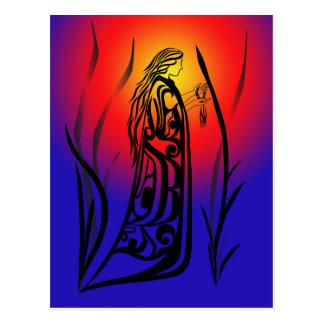 Medicine Woman Sunrise Prayers Post Cards