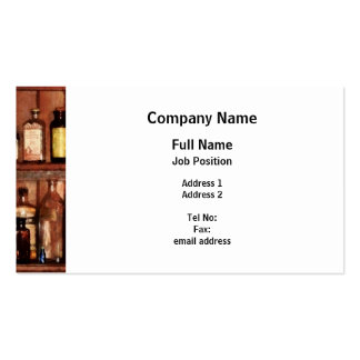 Medicines For Better Health Pack Of Standard Business Cards