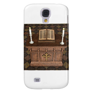 Medieval Alter and Bible Galaxy S4 Case