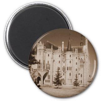 Medieval and art nouveau Episcopal Palace Magnet
