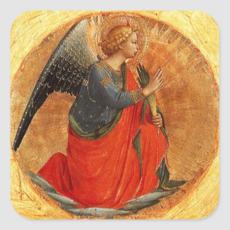 Medieval Angel Stickers