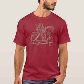 Medieval Archer -Taupe design T-Shirt