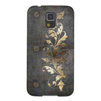 medieval armor metal decoration cases for galaxy s5