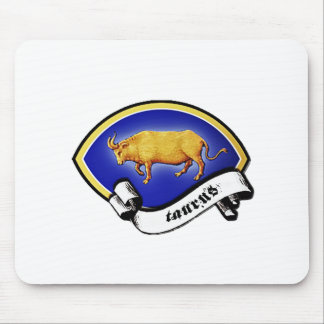 Medieval Astrological Zodiac Sign Bull (Taurus) Mouse Pad