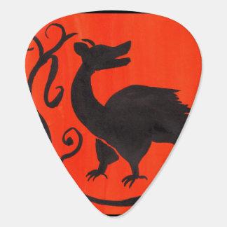 Medieval Beastie Guitar Pick