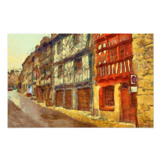 Medieval Brittany Photo Art