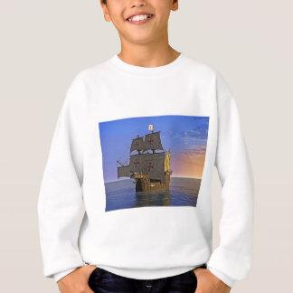 Medieval Carrack at Twilight Sweatshirt