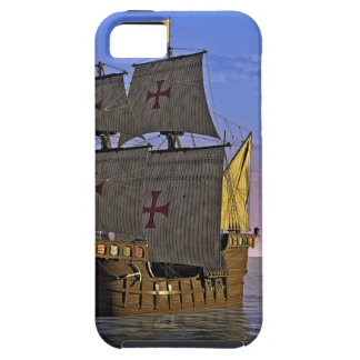 Medieval Carrack at Twilight Tough iPhone 5 Case