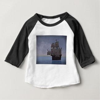 Medieval Carrack Becalmed Baby T-Shirt