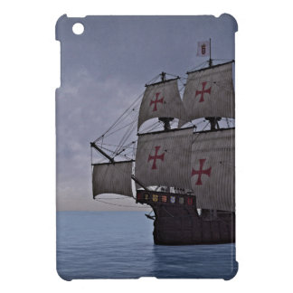 Medieval Carrack Becalmed iPad Mini Cover