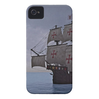 Medieval Carrack Becalmed iPhone 4 Covers