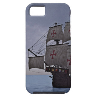 Medieval Carrack Becalmed iPhone 5 Covers