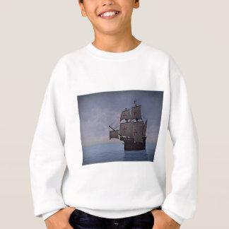 Medieval Carrack Becalmed Sweatshirt