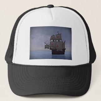 Medieval Carrack Becalmed Trucker Hat