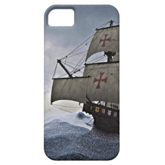 Medieval Carrack in the Storm Case For The iPhone 5